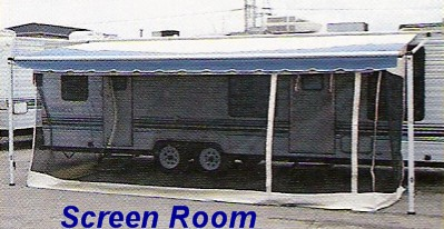 Universal Screen Room For Rollup Awnings