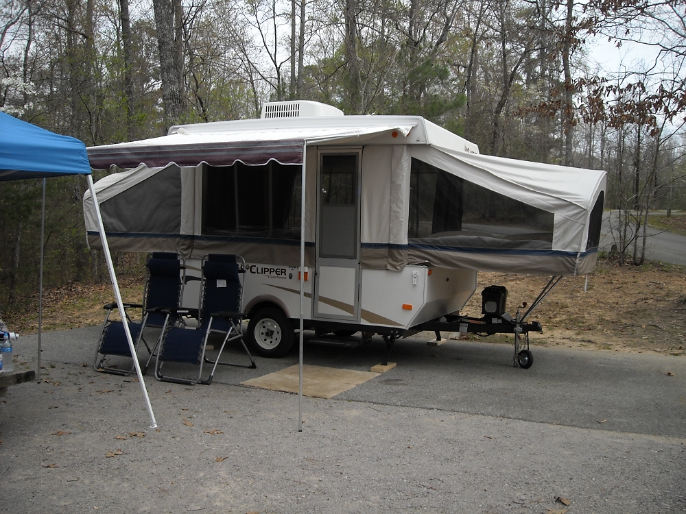 an size a medium coleman pop up screen of roll camper room for how parts awning make to