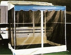 Screen Room Attachment for Shademaker Bag Awning