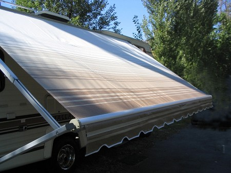 Recovers (New Fabric) for Roll-Up Awnings